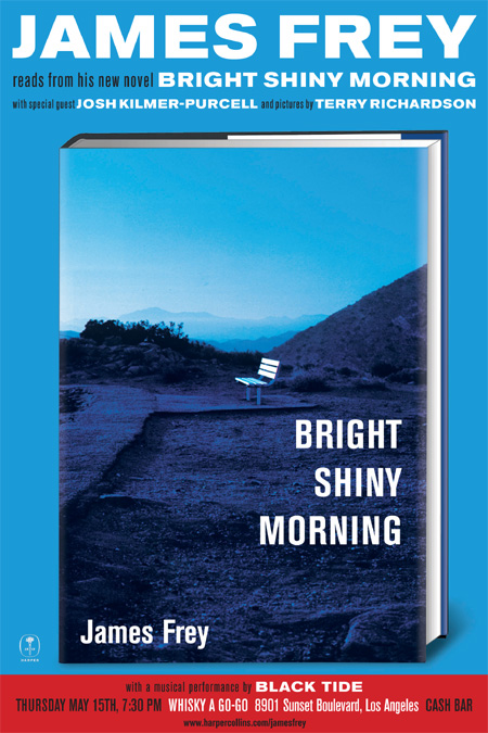 Poster for BRIGHT SHINY MORNING L.A. Event @ The Whisky