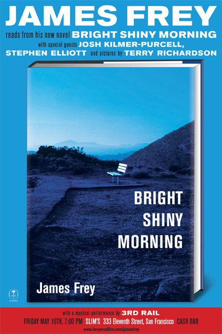 Poster for BRIGHT SHINY MORNING San Francisco Event @ Slim's