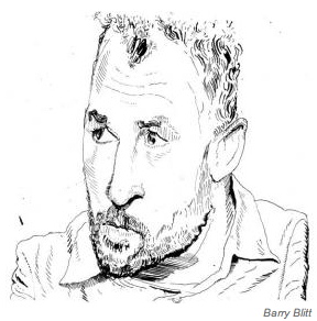 James Frey by Barry Blitt in the New York Observer