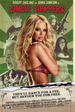 Zombie Strippers one sheet